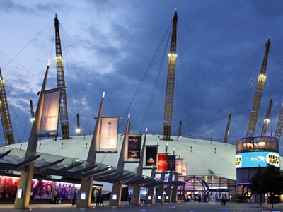 Outside The O2
