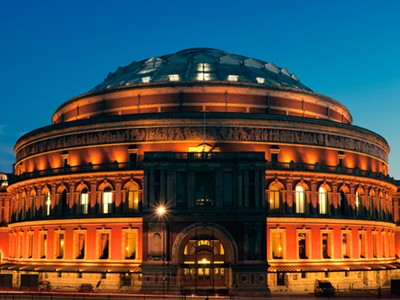 The beautiful Royal Albert Hall