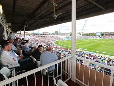 Enjoy exclusive hospitality at Edgbaston
