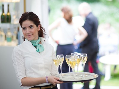 Experienced hostesses on hand