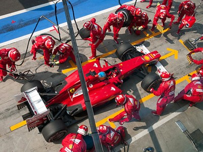 Get right to the heart of the F1 action