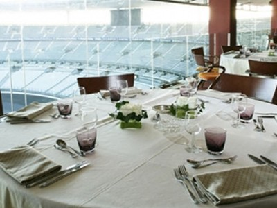 Savour traditional French hospitality inside the Stade de France
