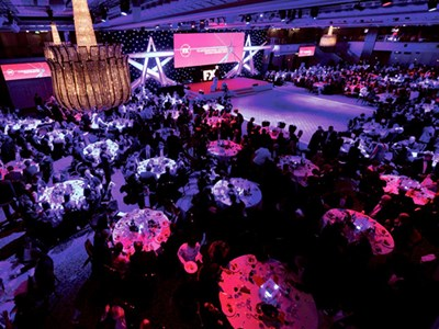 Enjoy a night of entertainment at the Grosvenor House Hotel
