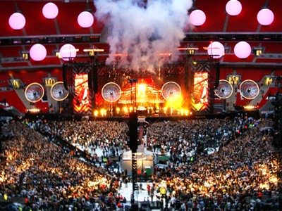 Experience this great show at Wembley Stadium