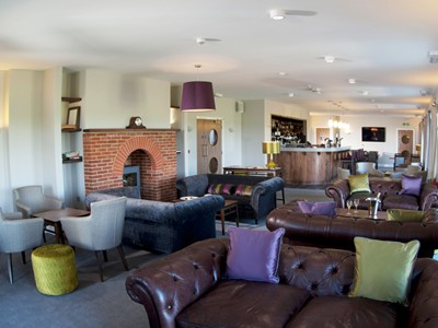 Relax after your round in the clubhouse at Prince's