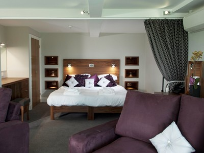 Unwind in the comfort of the plush apartments in The Lodge at Prince's