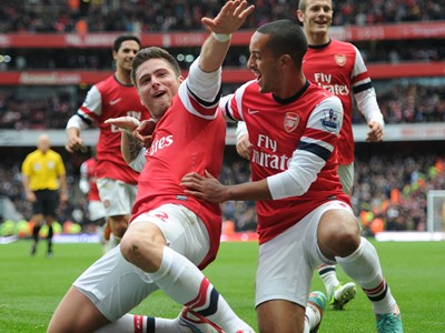 See Arsenal's free-flowing football this season