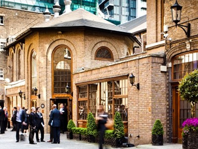 Enjoy a luxury lunch at The Brewery in London