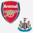 Arsenal v Newcastle United