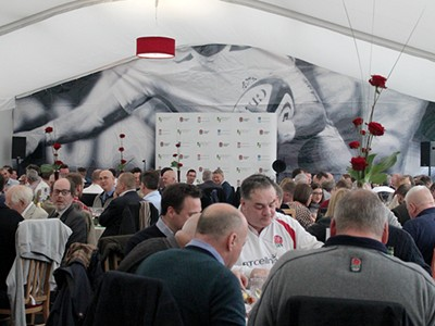 Savour official hospitality at Twickenham at the Orchard Enclosure