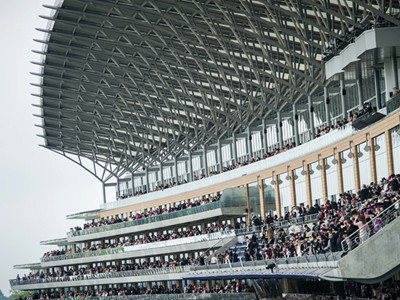 Step inside the stunning new grandstand