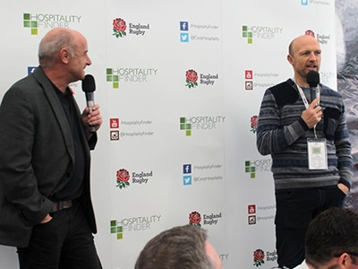Get the inside line pre-match from rugby legends