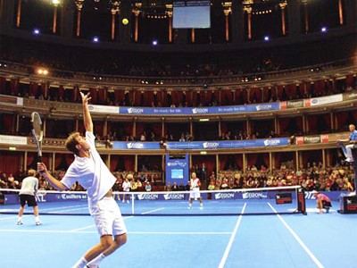 Great views of the on court action