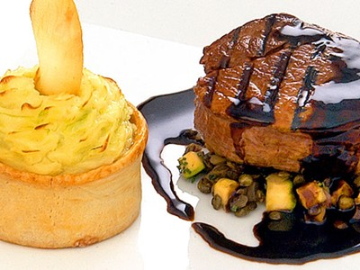 Savour fine dining at Murrayfield