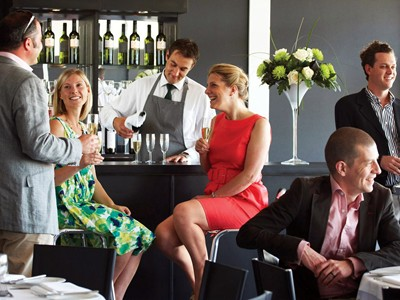 Relax and unwind in the ambient hospitality suites
