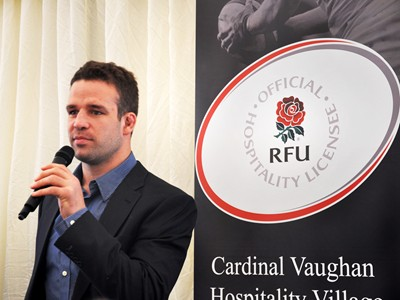 Guest speakers including former England star Joe Worsley