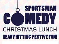 Sportsman Comedy Xmas Lunch title Listing