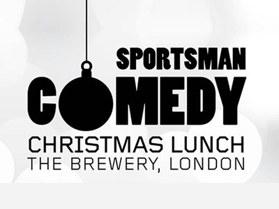Kick off your festive season at the Sportsman Comedy Christmas Lunch 2017