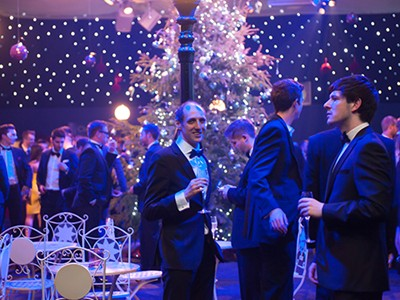 Experience the best corporate hospitality with a Masquerade Christmas Party