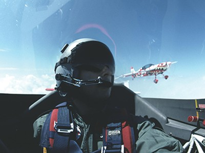 Learn aerobatic manoeuvres in the air