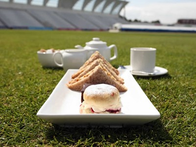 Afternoon Tea at the cricket