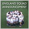 England Rugby Squad Announcement
