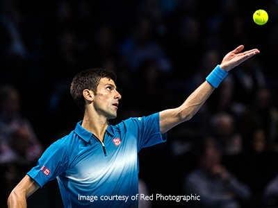 Witness Novak Djokovic in action at The O2
