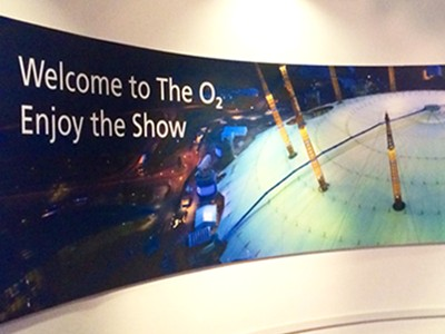 VIP Entrance to the O2 Arena