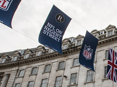 London prepares for NFL to return