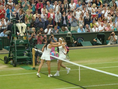 Centre Court action