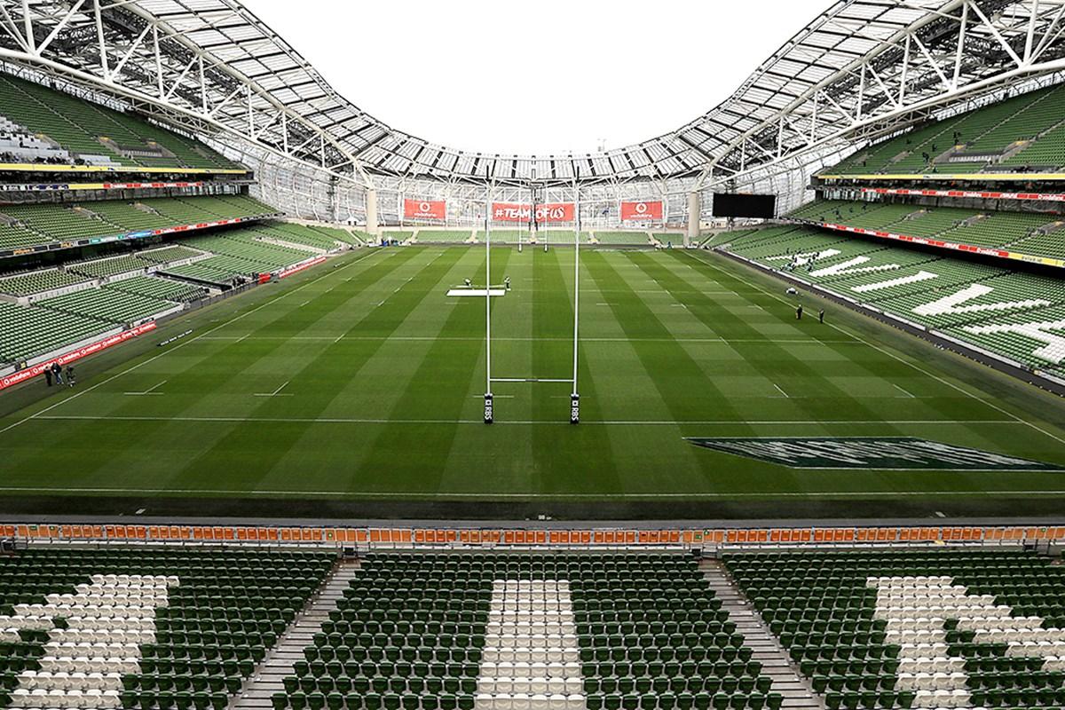 ireland rugby aviva stadium
