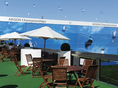 World class tennis on display at the Queens Club