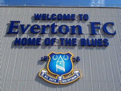 Witness the action at Goodison Park