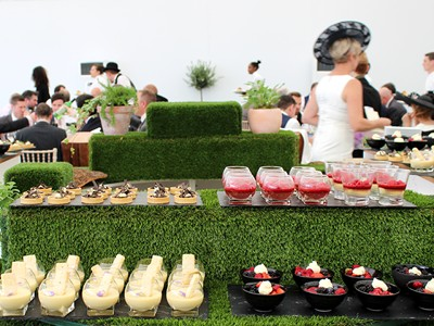 Indulge your senses with fine dining at Ascot Racecourse