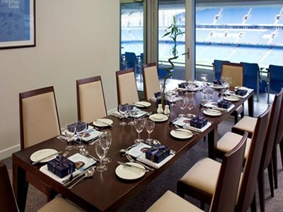 Platinum Box hospitality at the Etihad Stadium