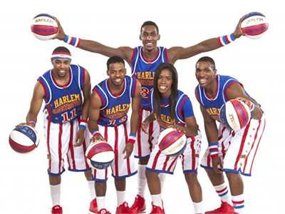 See the world famous Harlem Globetrotters