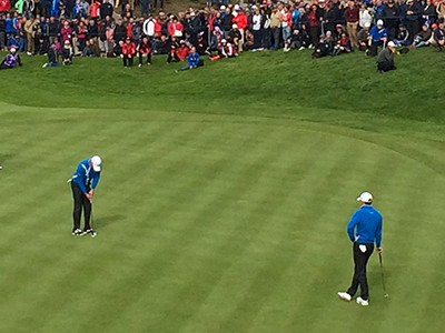 See the world's best golfers at the Ryder Cup