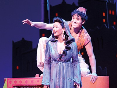See the spectacular production of Aladdin in London's West End