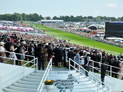 Capacity crowds at Epsom Racecourse