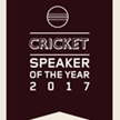 Cricket Speaker of the Year