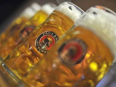 Unlimited Bitburger beer available
