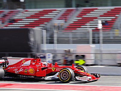 The Barcelona circuit is famous for producing exciting races