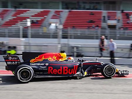 Testing Red Bull 2017