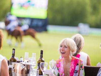 Enjoy a day at the polo