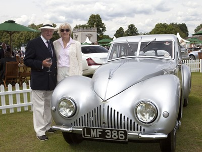 Classic cars on show