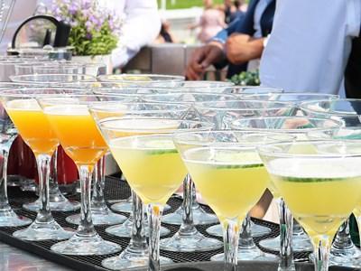 Enjoy superb cocktails