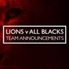 Lions v All Blacks second test line up