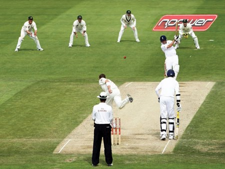 England in action at Headingley