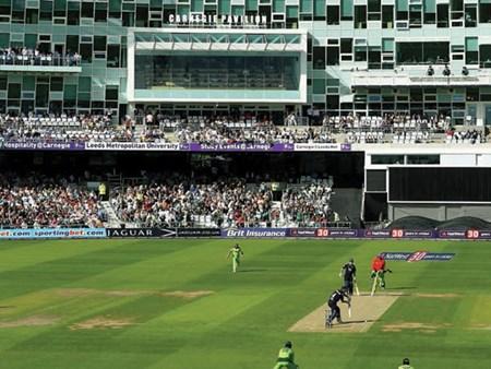 England v Pakistan at Headingley