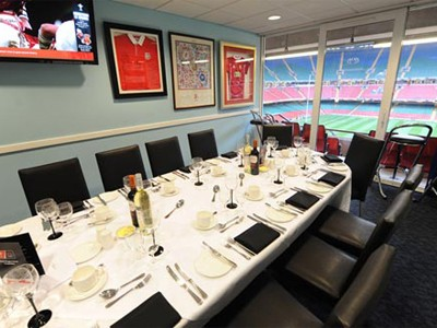 Private Box inside the Principality Stadium